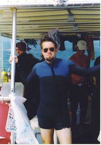 First Dive - 2003